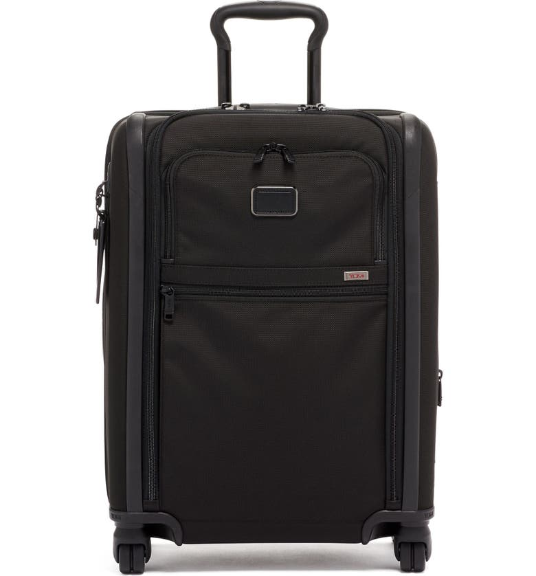 TUMI Alpha 3 Collection 22-Inch Wheeled Dual Access Continental Carry-On, Main, color, Black