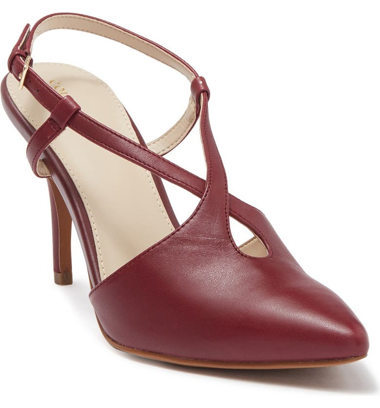 COLE HAAN Vana Pump, Main, color, TAWNY PORT LEATHER