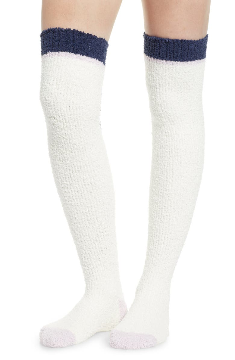 UGG<SUP>®</SUP> Cozy Over the Knee Socks, Main, color, 100