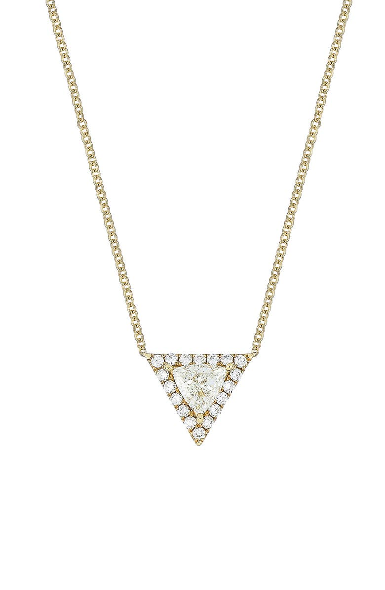 BONY LEVY Diamond Pendant Necklace, Main, color, YELLOW GOLD