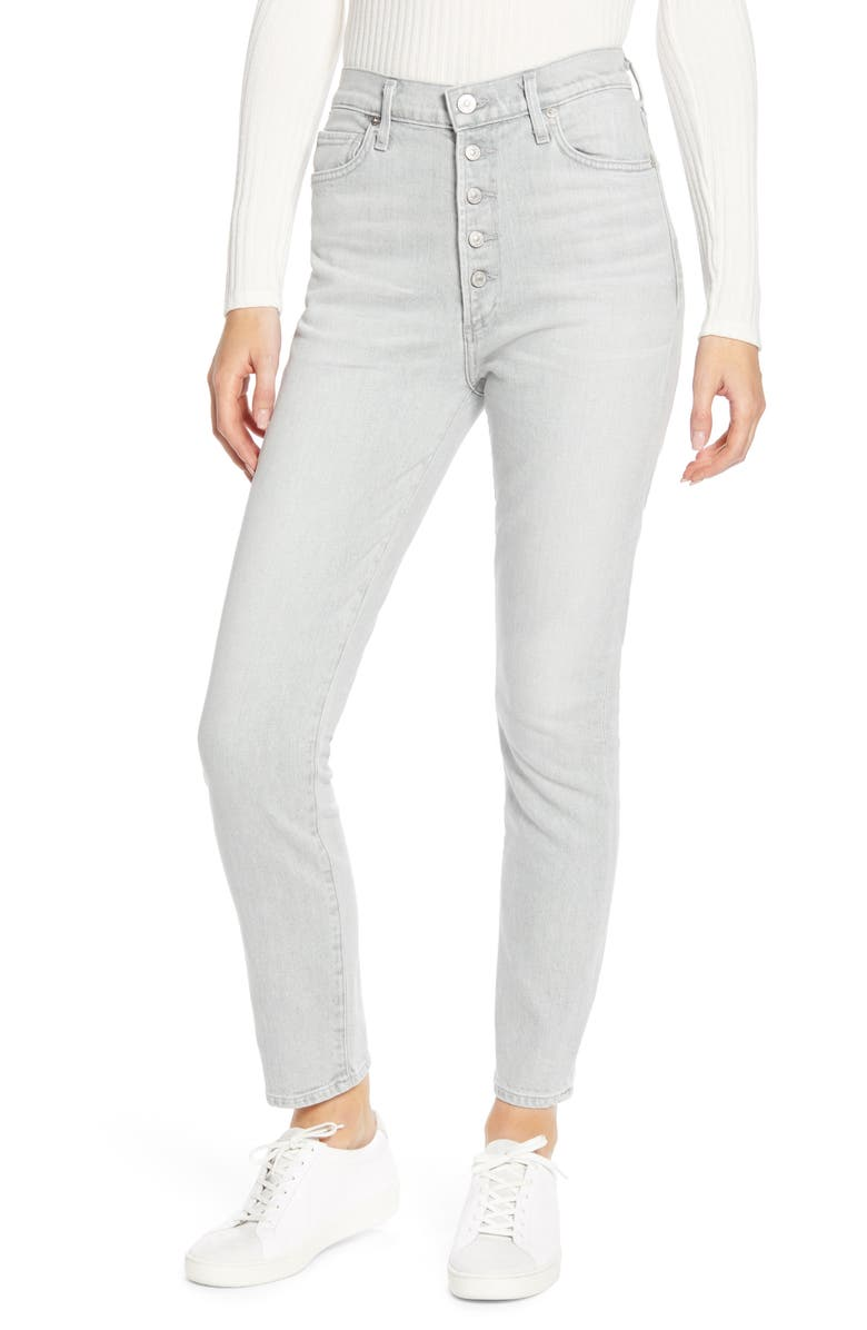 CITIZENS OF HUMANITY Olivia High Waist Ankle Slim Jeans, Main, color, 061