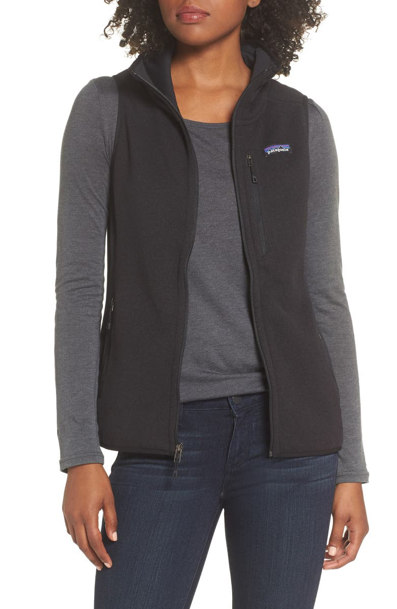 PATAGONIA Performance Better Sweater Vest, Main, color, 001