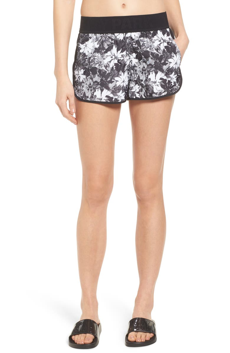 IVY PARK<SUP>®</SUP> Floral Running Shorts, Main, color, 025
