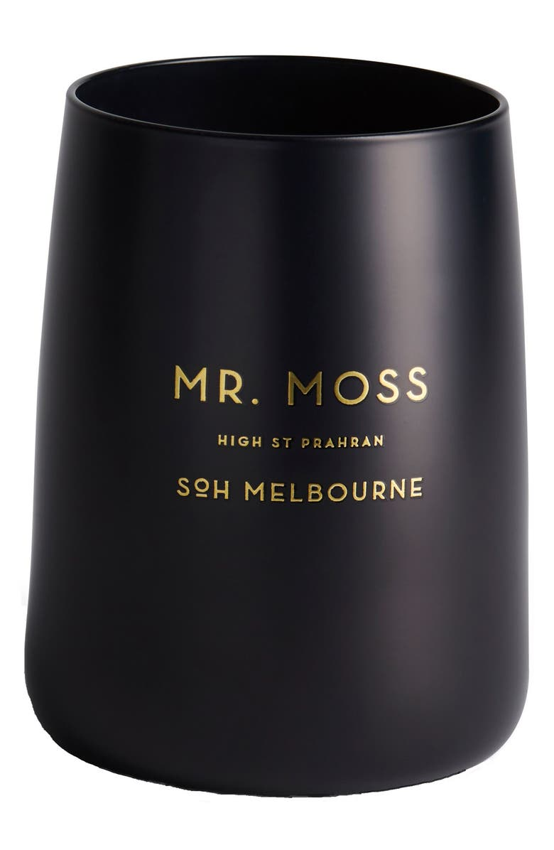 SOH MELBOURNE Black Matte Candle, Main, color, 001