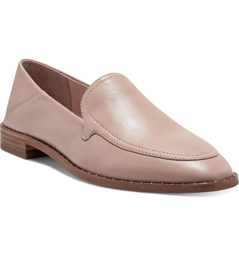 VINCE CAMUTO Cretinian Loafer, Main, color, PEACH NOUGAT BABY SHEEP
