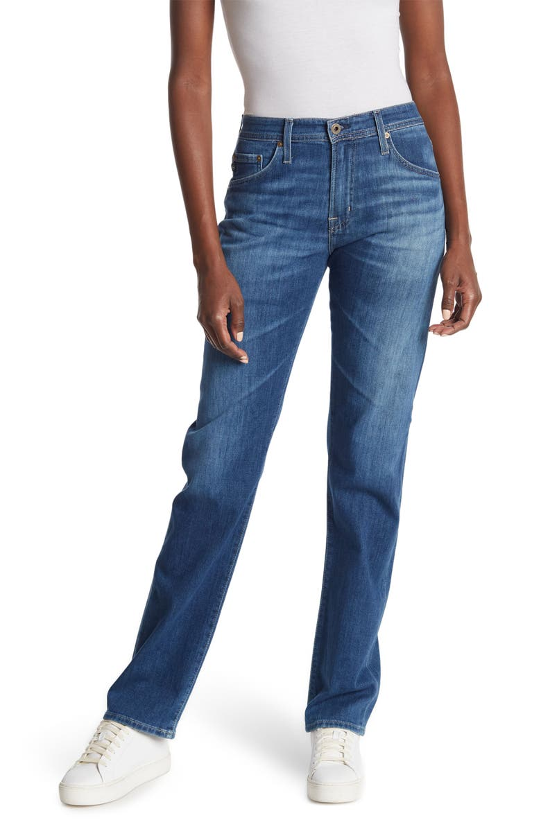 AG Ives Straight Jeans, Main, color, STATELY