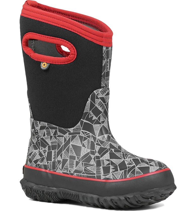 BOGS Classic Maze Geo Insulated Waterproof Boot, Main, color, 009