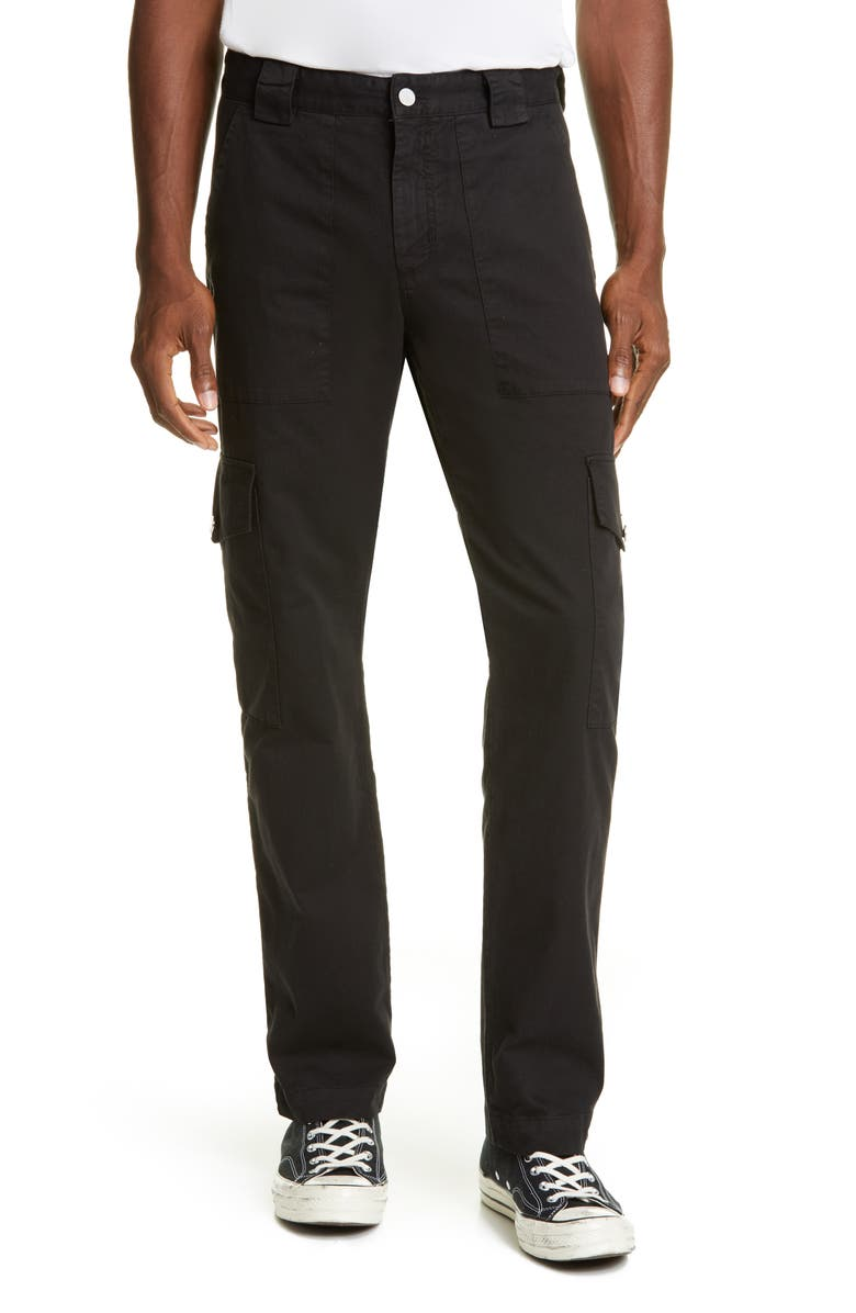 BILLY LOS ANGELES Patch Pocket Twill Cargo Pants, Main, color, 001
