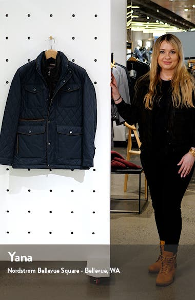 Water Resistant Quilted Jacket, sales video thumbnail