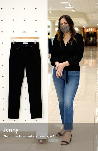Liza High Waist Straight Leg Jeans, sales video thumbnail
