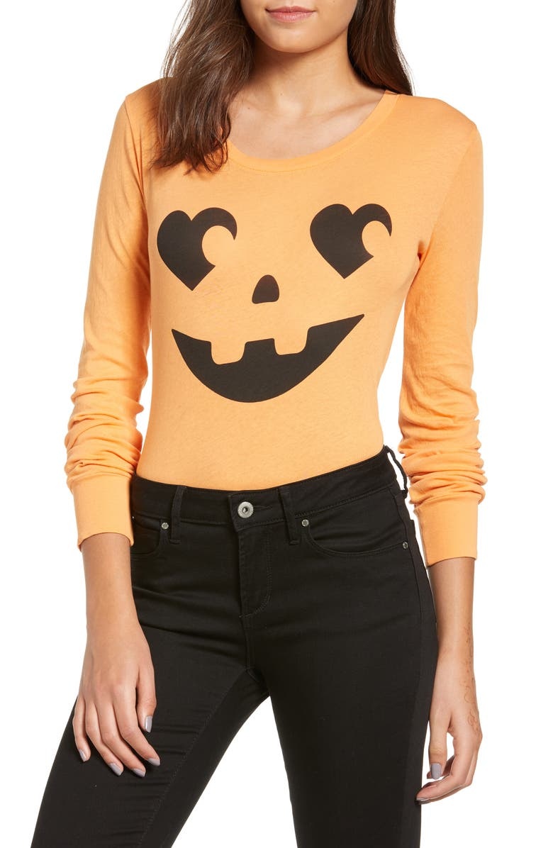 WILDFOX Jack O' Heart Bodysuit, Main, color, 820