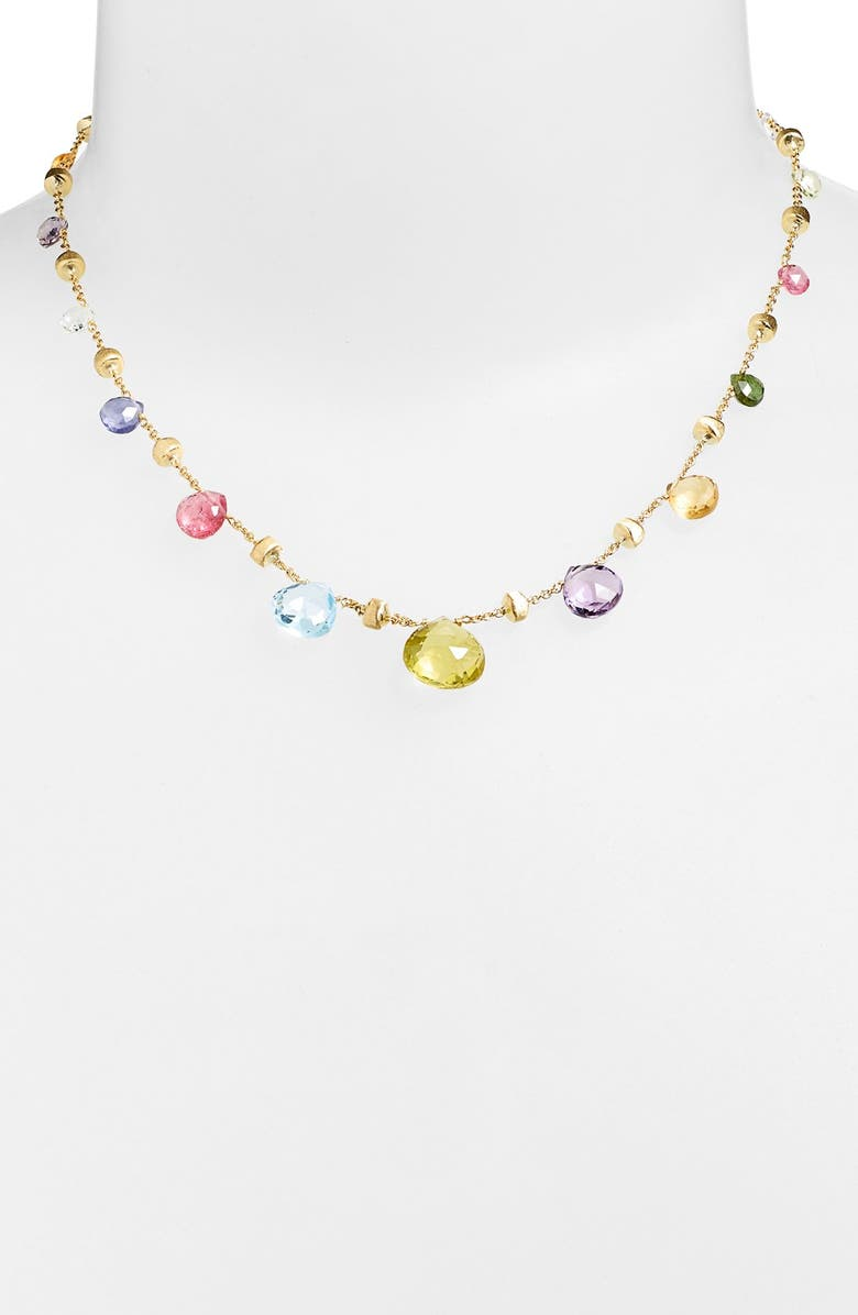 MARCO BICEGO 'Paradise' Collar Necklace, Main, color, MULTI/ YELLOW GOLD
