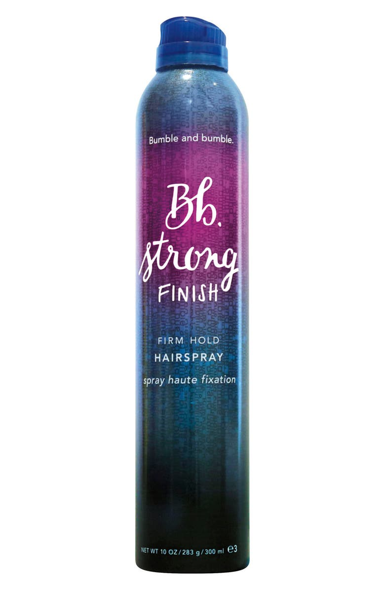 BUMBLE AND BUMBLE. Strong Finish Firm Hold Hairspray, Main, color, NO COLOR