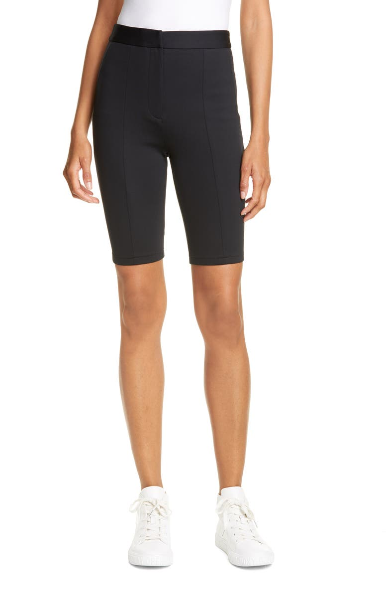 TIBI Biker Shorts, Main, color, 001
