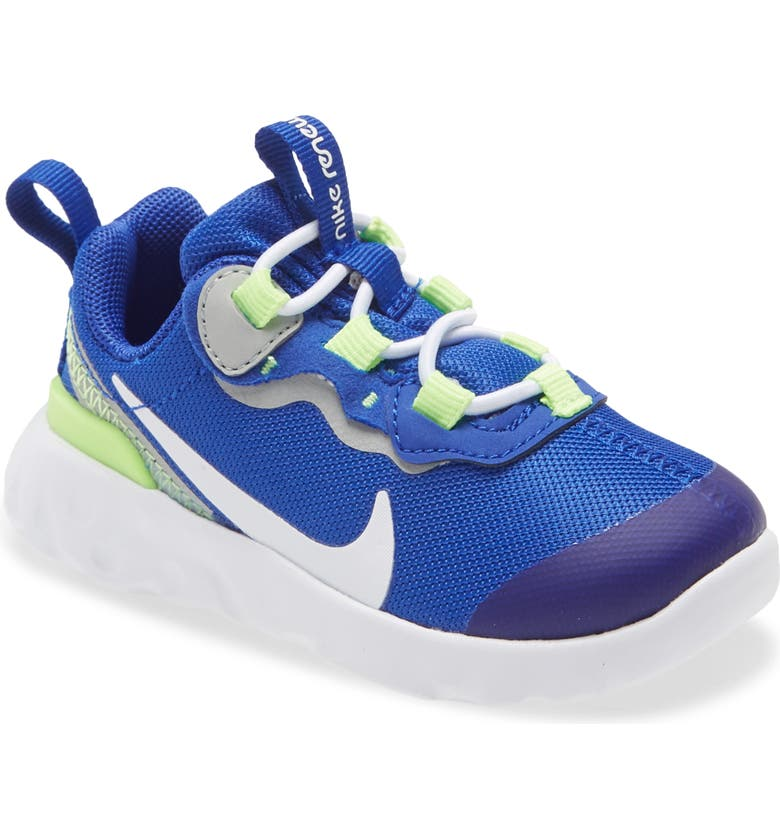NIKE Renew Element 55 Sneaker, Main, color, HYPER BLUE/ WHITE-GHOST GREEN