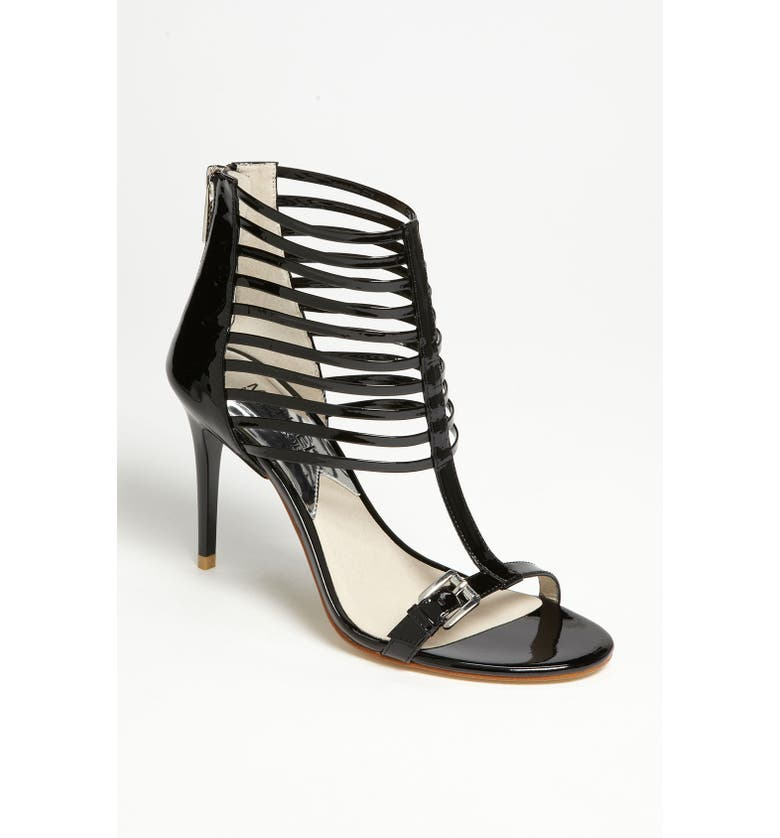 MICHAEL MICHAEL KORS 'Molly' Sandal, Main, color, 001