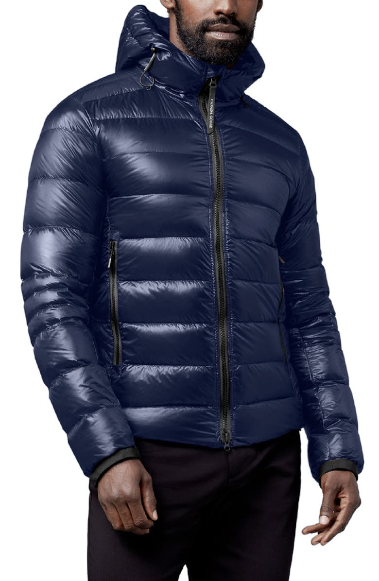 CANADA GOOSE Crofton Water Resistant Packable Quilted 750-Fill-Power Down Jacket, Main, color, ATLANTIC NAVY