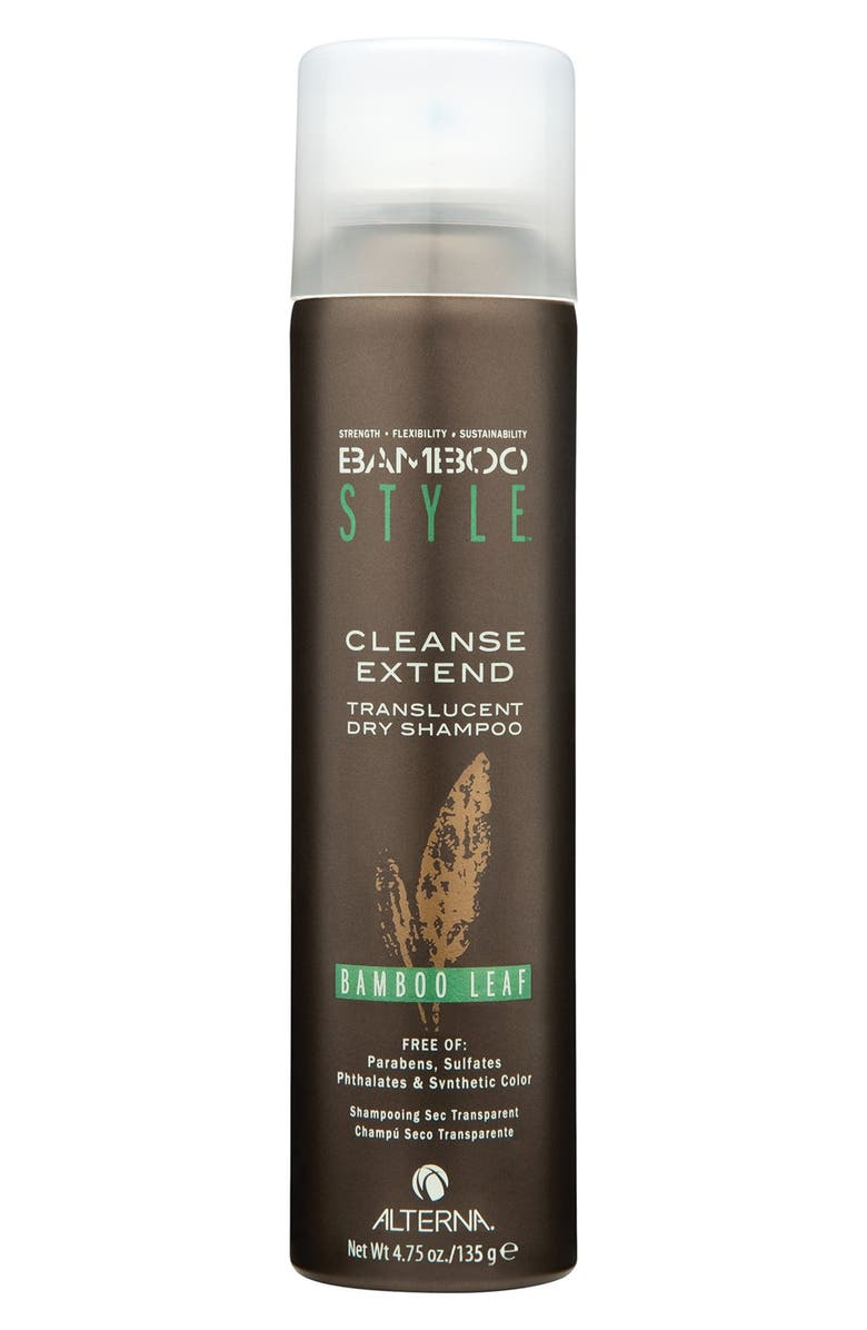 ALTERNA<SUP>®</SUP> Bamboo Style Cleanse Extend Translucent Dry Shampoo, Main, color, BAMBOO LEAF