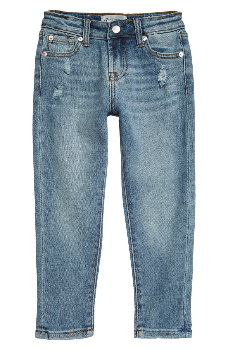 7 FOR ALL MANKIND<SUP>®</SUP> Kids' Josefina Luxe Boyfriend Jeans, Main, color, 462