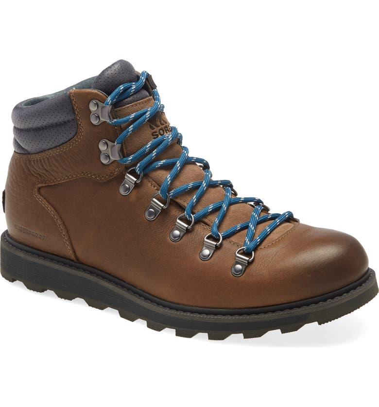 SOREL Madson II Waterproof Hiker Boot, Main, color, BROWN