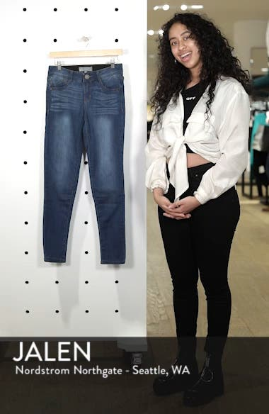Ab-Solution Stretch Skinny Jeans, sales video thumbnail