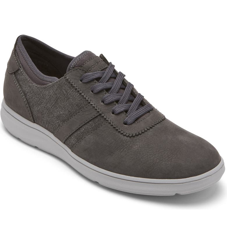 ROCKPORT Zaden Sneaker, Main, color, Grey