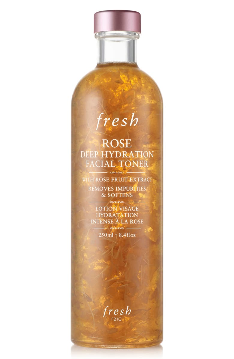 FRESH<SUP>®</SUP> Rose & Hyaluronic Acid Deep Hydration Toner, Main, color, NO COLOR