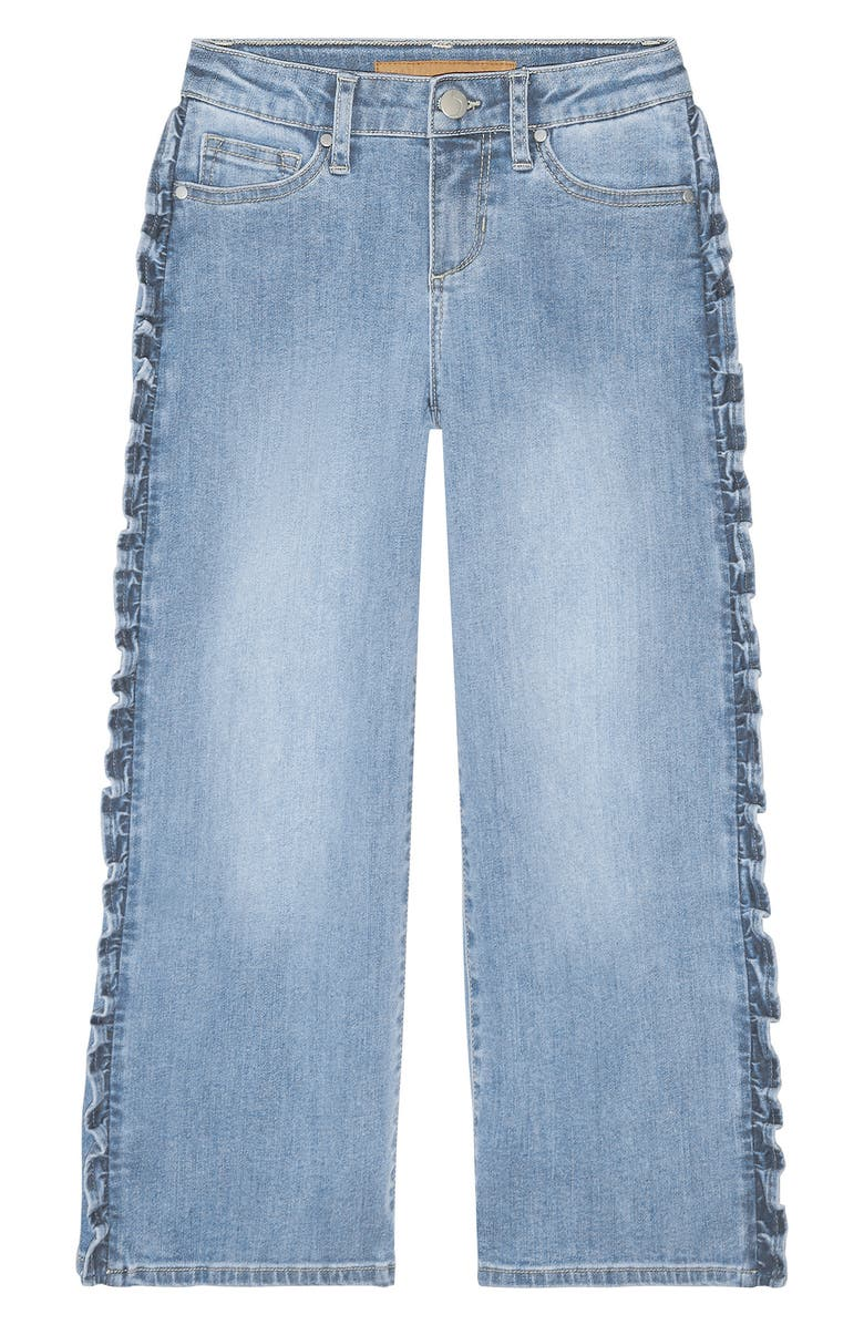 JOE'S Kids' The Astrid Wide Leg Crop Jeans, Main, color, 401