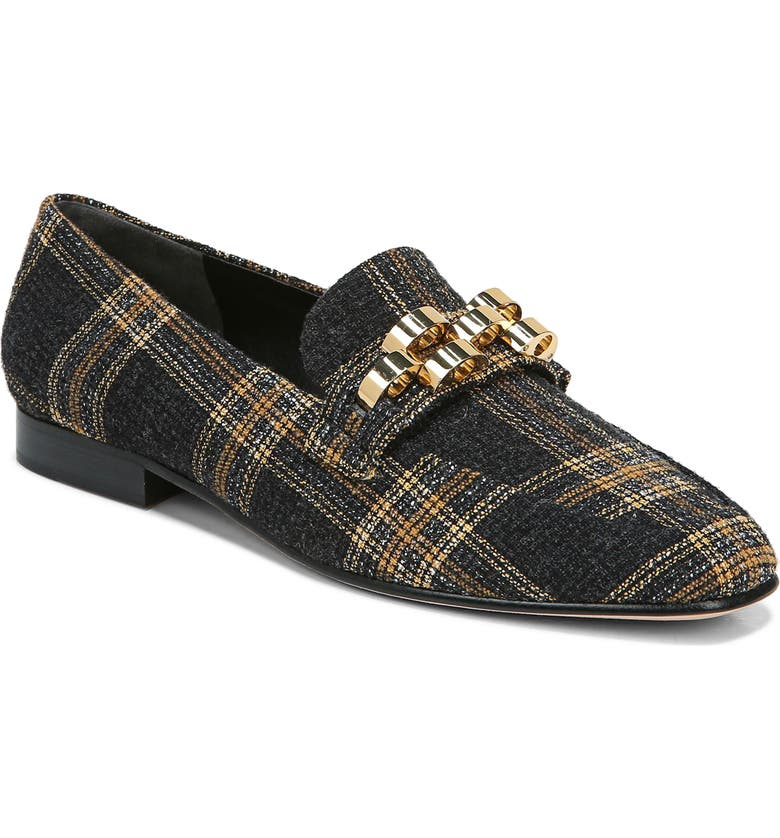 VERONICA BEARD Alire Chain Loafer, Main, color, BLACK MULTI