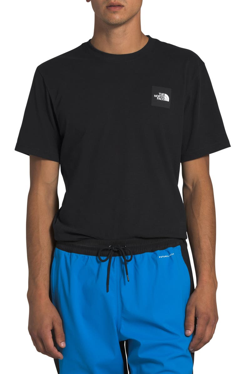 THE NORTH FACE Red Box Logo T-Shirt, Main, color, TNF BLACK
