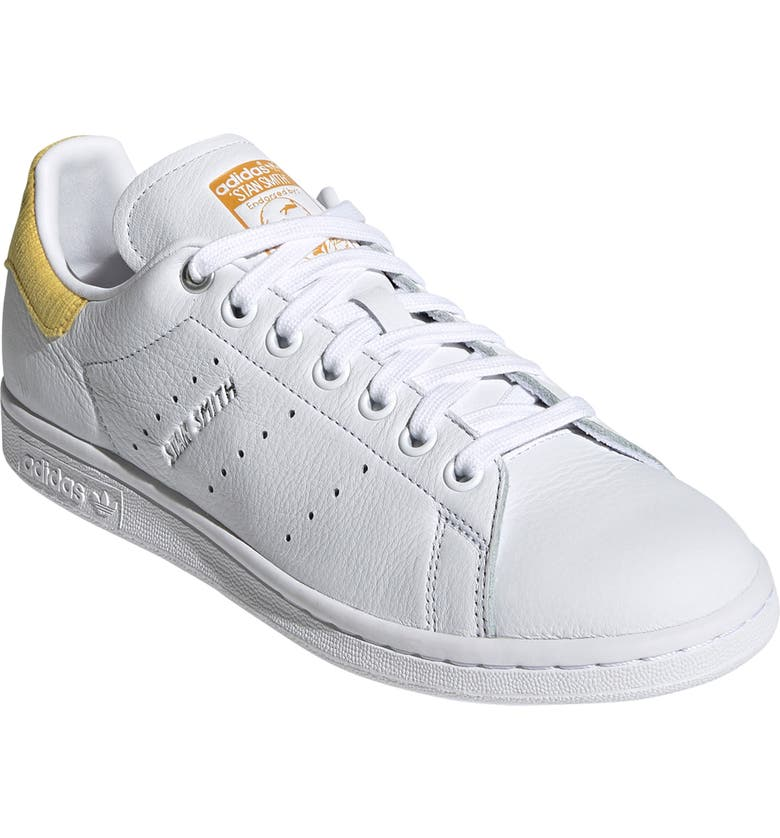 ADIDAS Stan Smith Sneaker, Main, color, WHITE/ SILVER/ CORN YELLOW