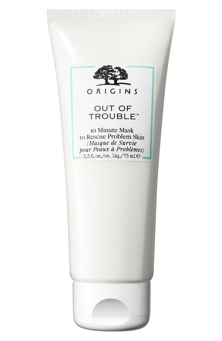 ORIGINS Out of Trouble<sup>™</sup> 10 Minute Mask to Rescue Problem Skin, Main, color, No Color