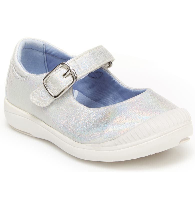 STRIDE RITE Reagan Glitter Mary Jane, Main, color, IRIDESCENT