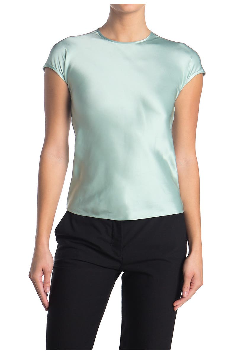 HELMUT LANG Satin Top, Main, color, 100