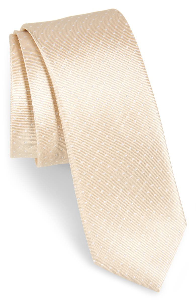 THE TIE BAR Dot Silk Tie, Main, color, 270