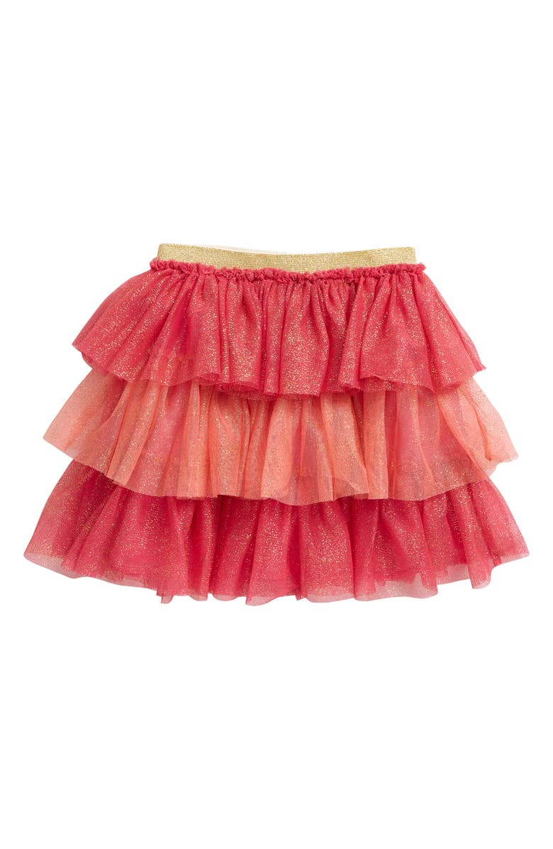 TUCKER + TATE Tiered Tulle Skirt, Main, color, 680