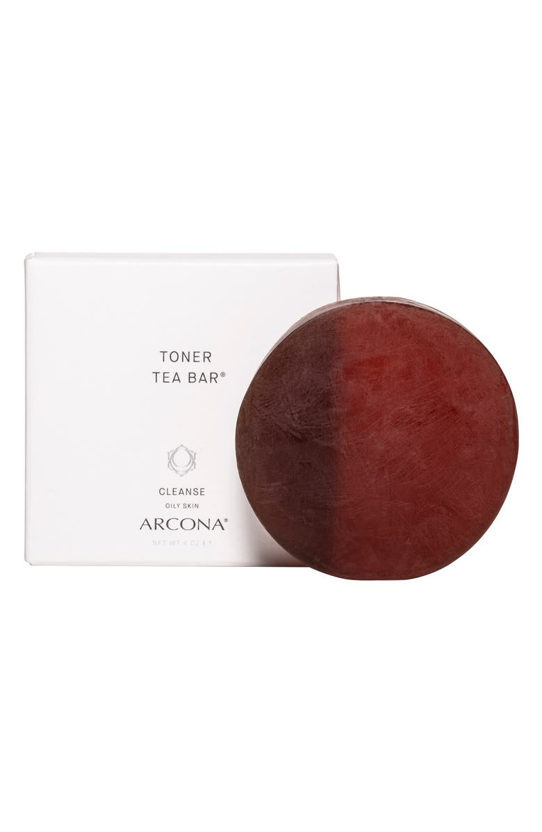 ARCONA Toner Tea Bar Facial Cleanser for Combination to Oily Skin, Main, color, No Color
