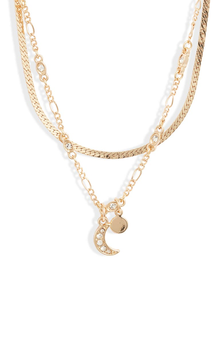 BP. x Claudia Sulewski Layered Charm Necklace, Main, color, 710