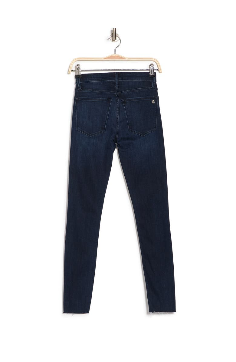 BLACK ORCHID Carmen High Rise Ankle Fray Jeans, Main, color, WASTED TIME