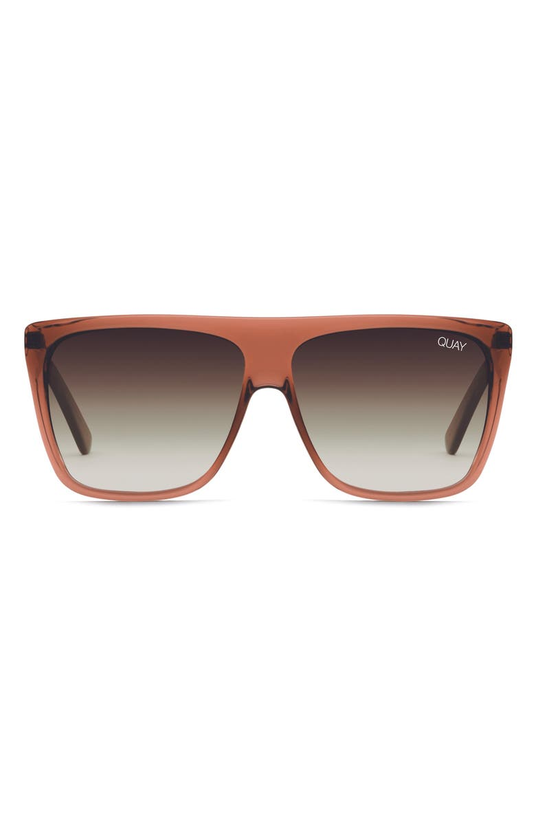 QUAY AUSTRALIA On the Low 60mm Oversize Square Sunglasses, Main, color, 205