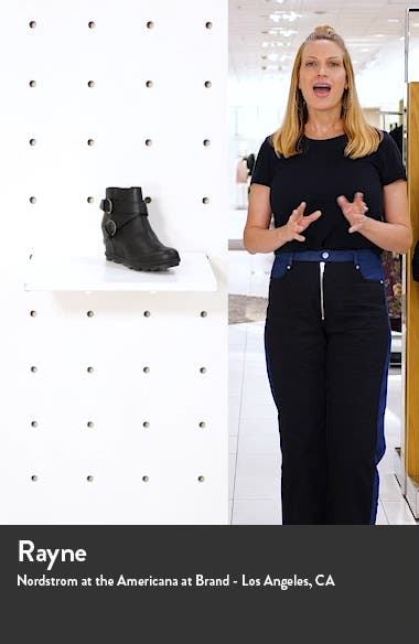 Joan of Arctic II Wedge Bootie, sales video thumbnail