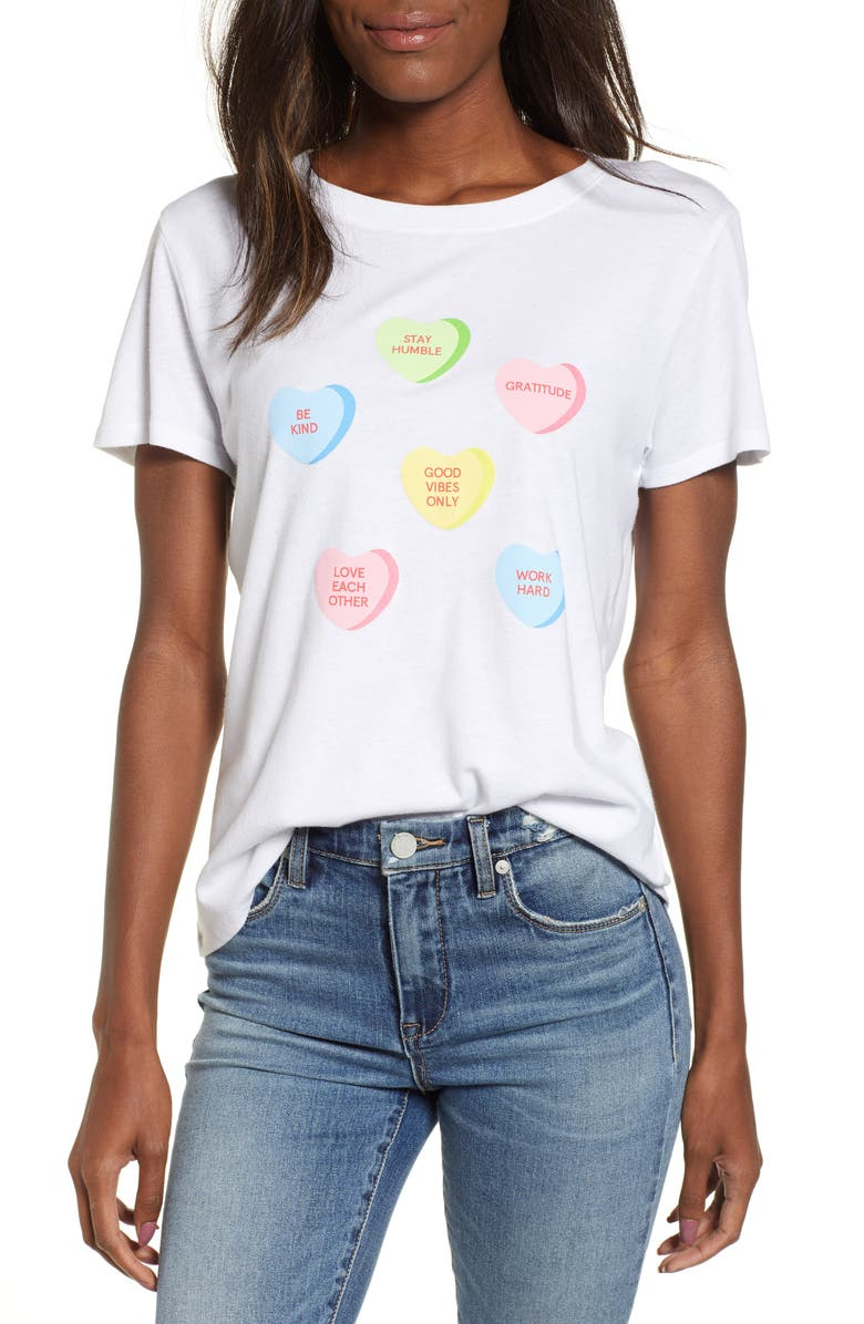 SUB_URBAN RIOT Candy Hearts Slouch Tee, Main, color, 100