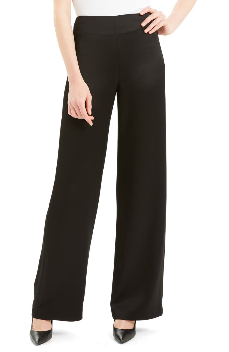 THEORY Clean Wide Leg Pants, Main, color, 001