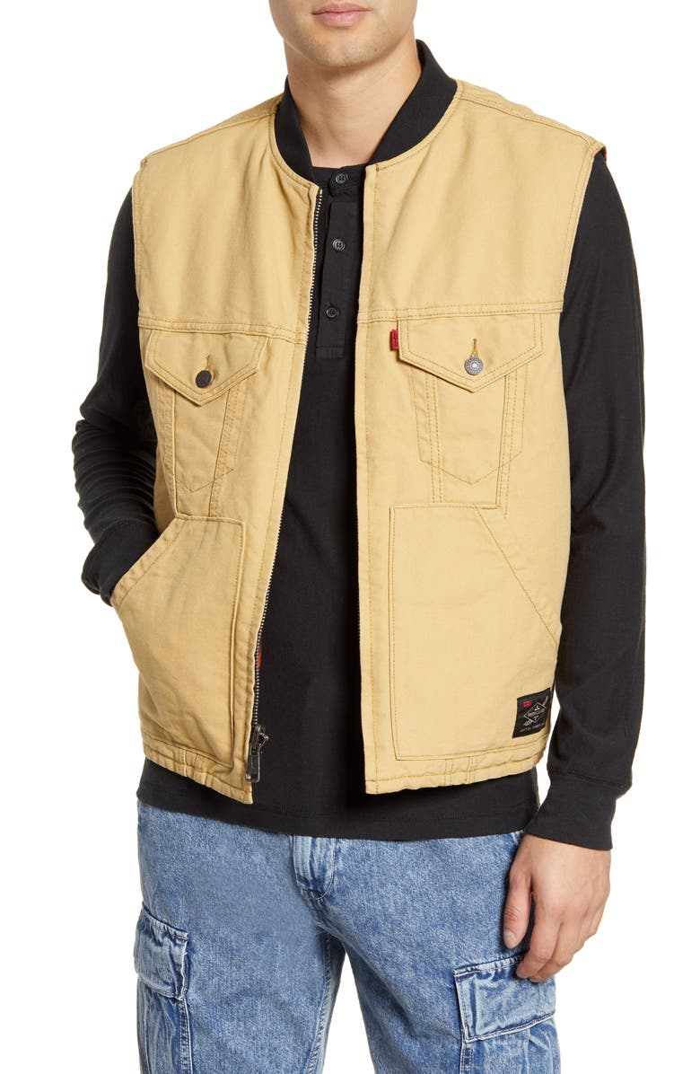 LEVI'S<SUP>®</SUP> x Justin Timberlake Reversible Vest, Main, color, 300