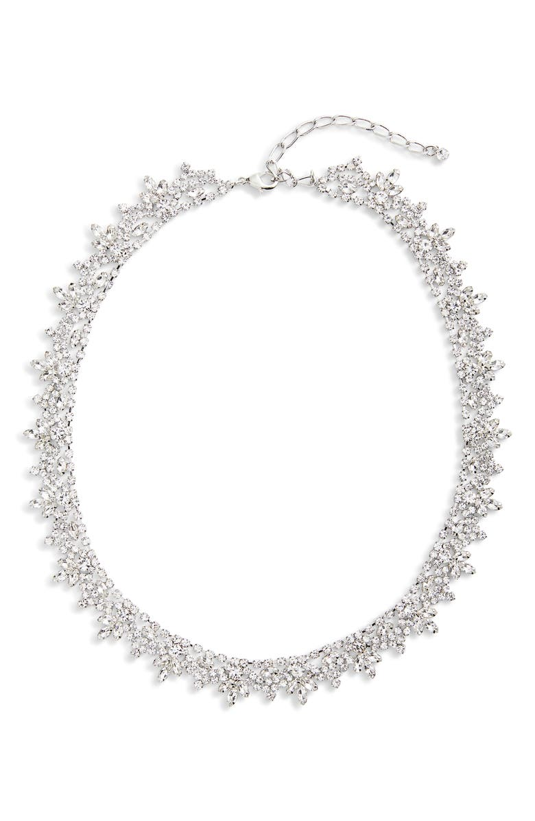 CRISTABELLE Crystal Collar Necklace, Main, color, 040