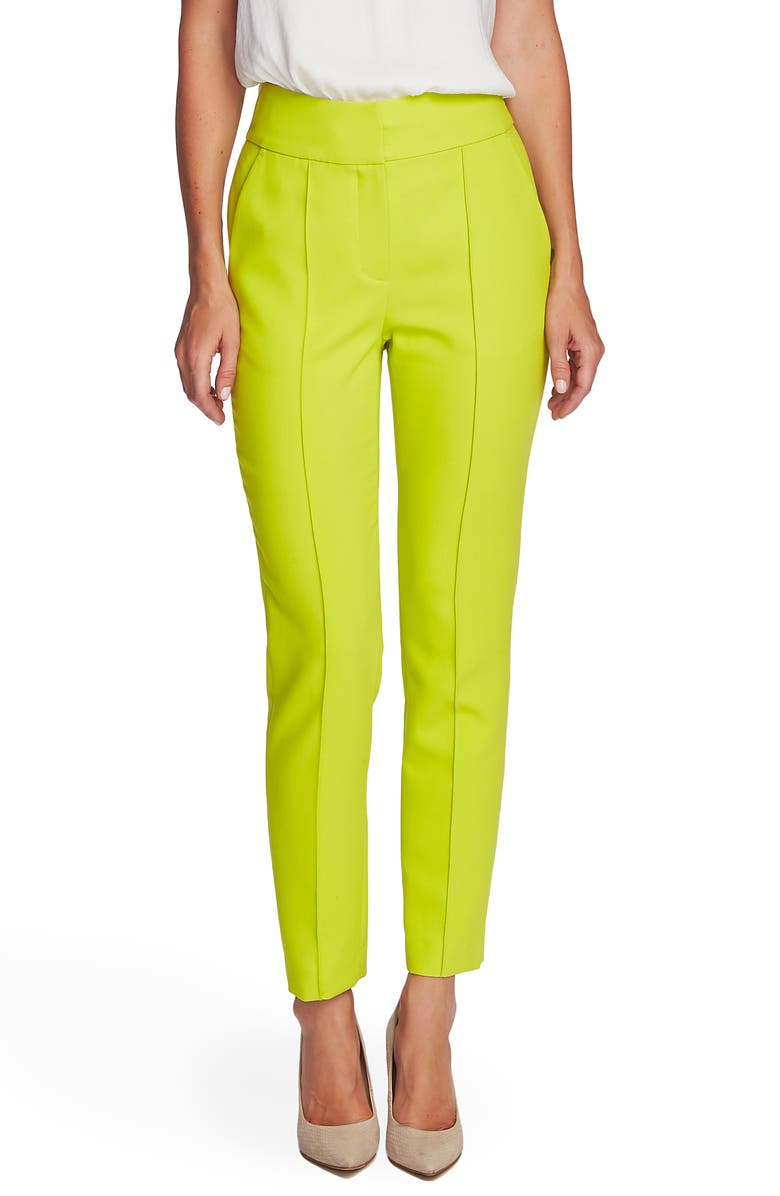 VINCE CAMUTO Center Seam Stretch Crepe Skinny Trousers, Main, color, 337