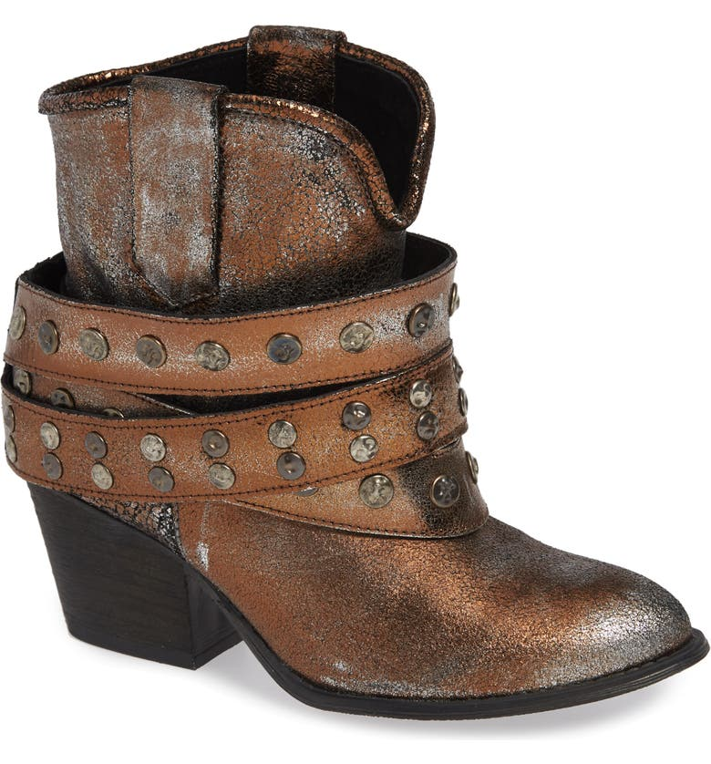 VERY VOLATILE Steinway Harness Bootie, Main, color, 020