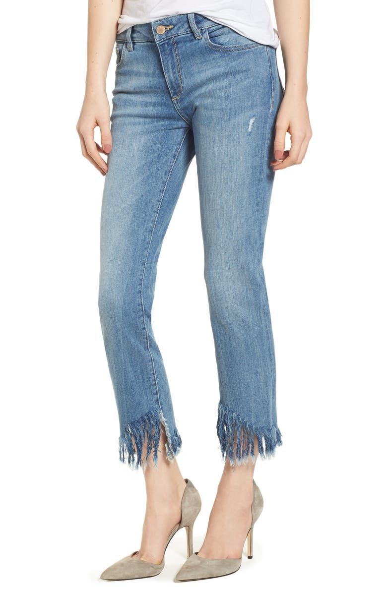 DL 1961 Mara Instasculpt Ankle Straight Leg Jeans, Main, color, UPSTATE