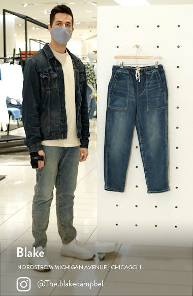 Relaxed Pull-On Jeans, sales video thumbnail