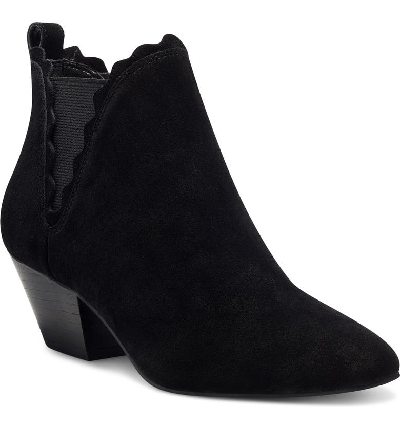 SOLE SOCIETY Candrah Bootie, Main, color, BLACK SUEDE